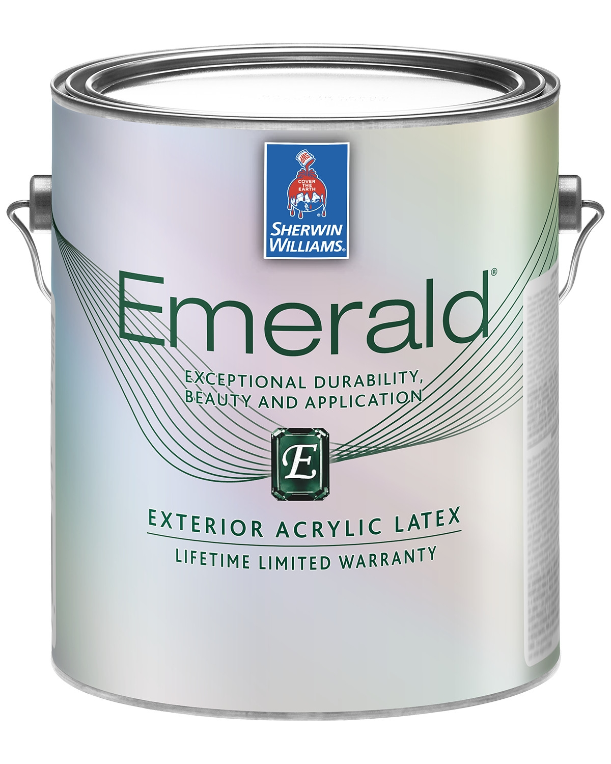 Emerald Exterior paint can