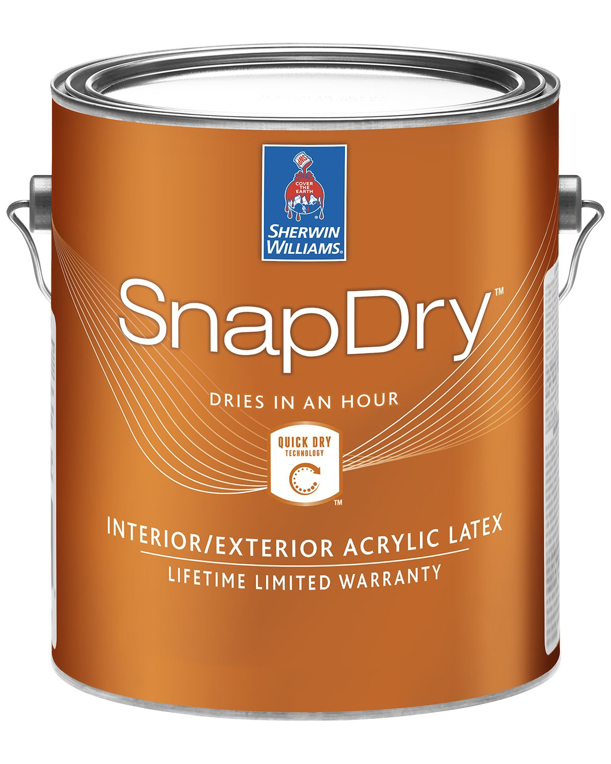 SnapDry can of paint