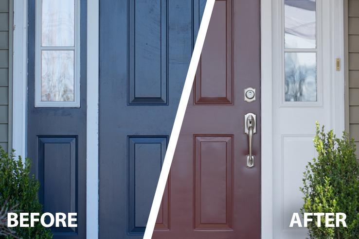 Doors Done In A Snap Snapdry Door Amp Trim Paint