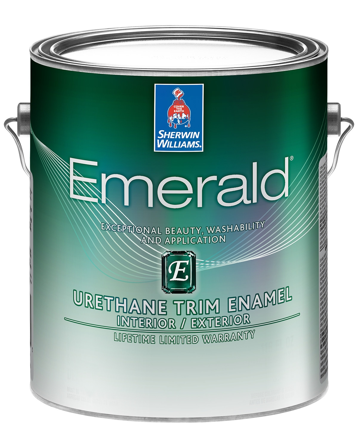 Emerald Urethan paint can