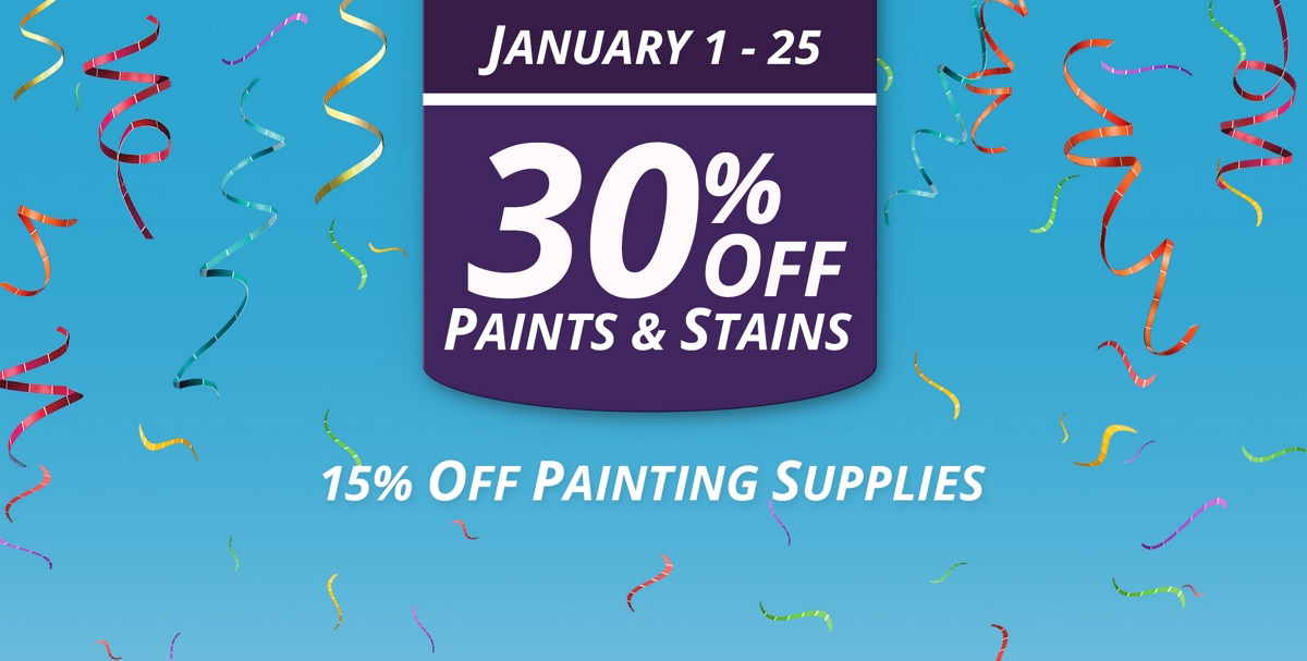 National Coupon Event: January 1 - 25