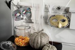 Masquerade halloween masks project
