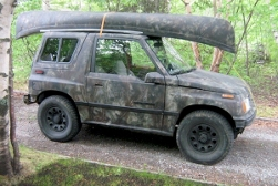 Camouflage 4wd Sidekick Project