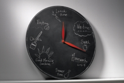 Chalkboard Clock Project