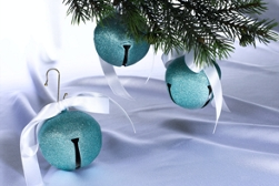 Jingle Bell Glittery Christmas Ornaments Project
