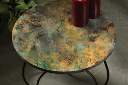 Marble table spray paint project