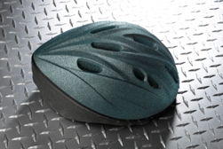 Bike helmet spray paint project