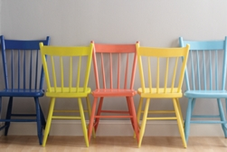 Furniture spray paint projects