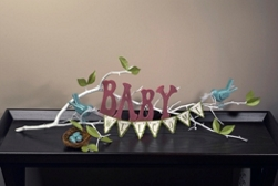 Welcome Baby Centerpiece Project