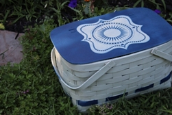 Picnic Basket Makeover Project