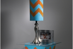 Chevron Lamp Shade Project