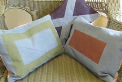 Maritime Toss Pillows Project