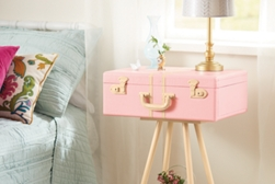 Suitcase Side Table