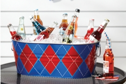 Beverage tub spray paint projects