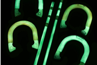 Glow-In-The-Dark Horseshoes