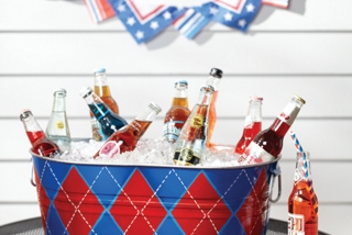 Argyle Beverage Tub