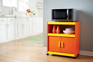 Laminate Microwave Stand