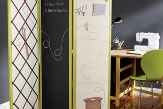 Sewing Room Divider