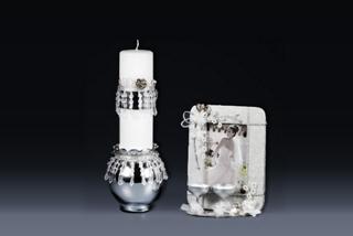 Wedding Toast Frame & Candleholder Project