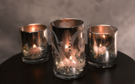 Antiqued Votive Set Project