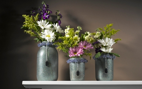 Canning Jar Vases