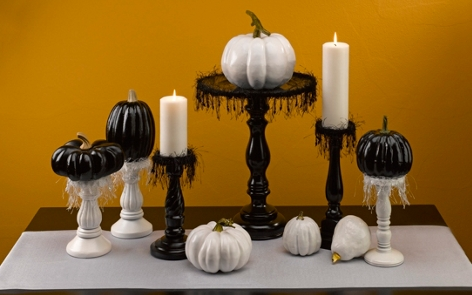 Elegant Halloween Tablescape Project