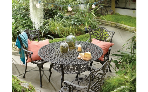 spray painting metal furnitureGarden Table and Chairs Project Outdoor Spray Paint Projects