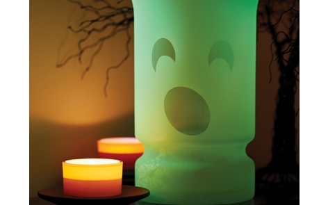 Glowz Ghostly Vase Project