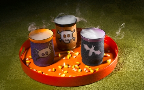 Halloween Votives Project
