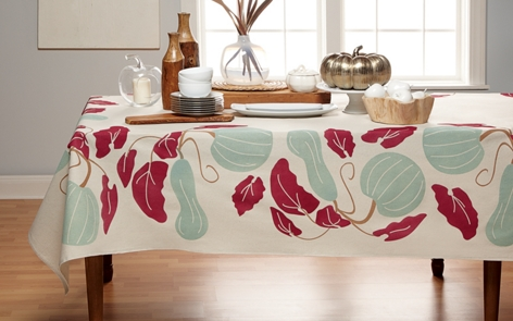 Harvest Tablecloth Project