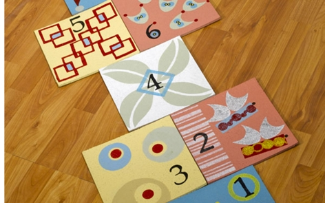 Indoor Hopscotch Project