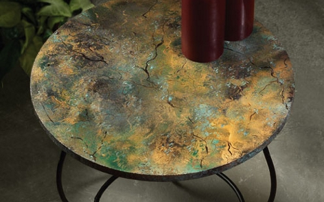 Marble Elegance Table Project Home D Cor Spray Paint