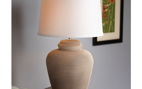 Natural Stone Lamp Project