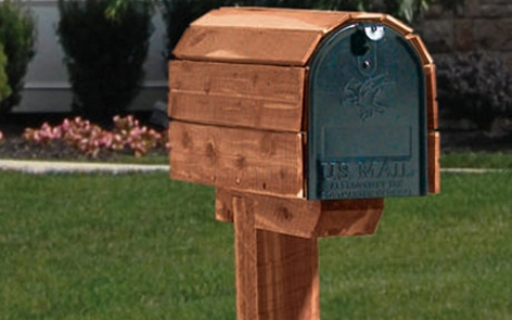 Wooden Mailbox Project