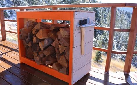 Firewood Storage Rack