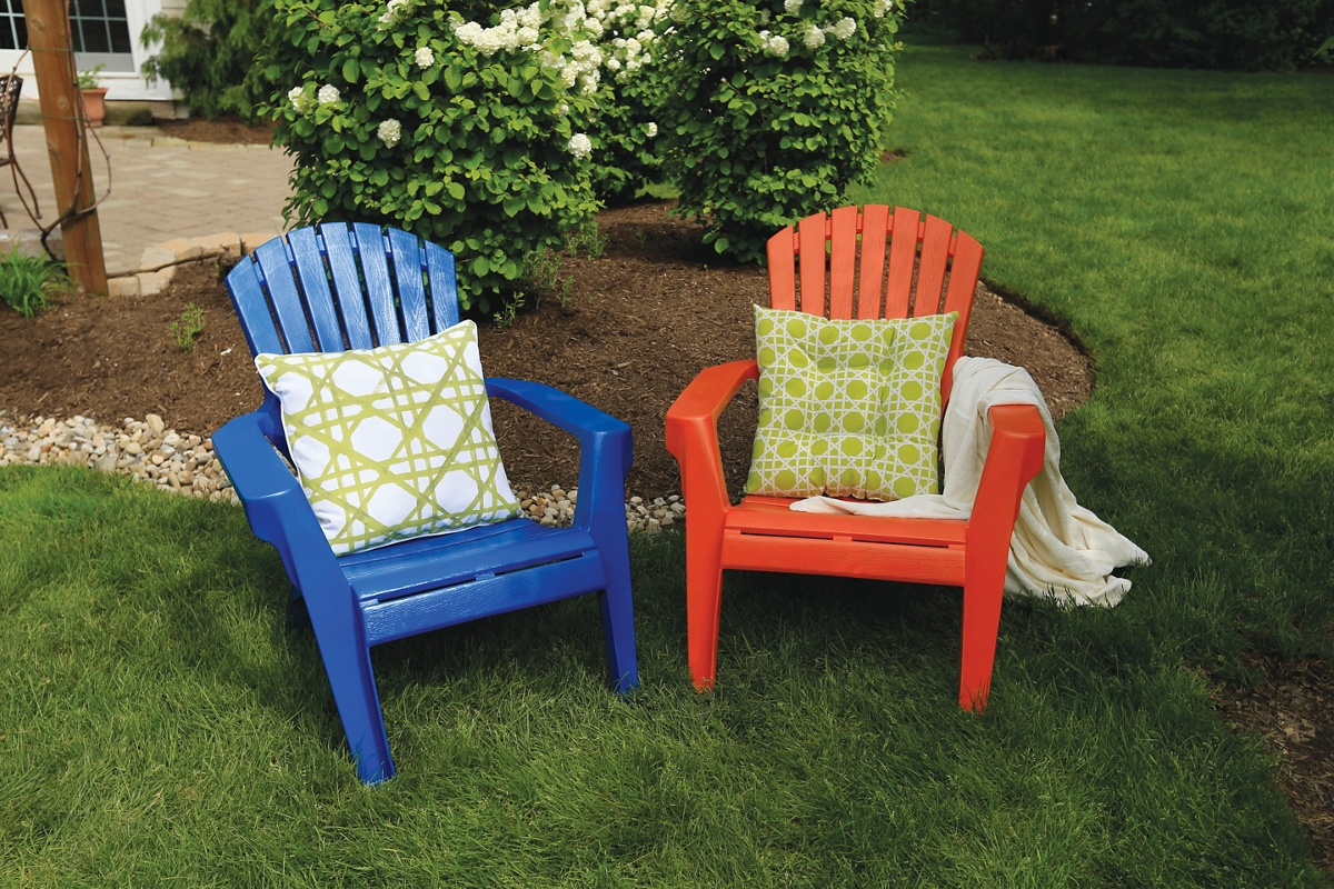 Spray Paint Plastic Chairs How to Paint Plastic Lawn Chairs