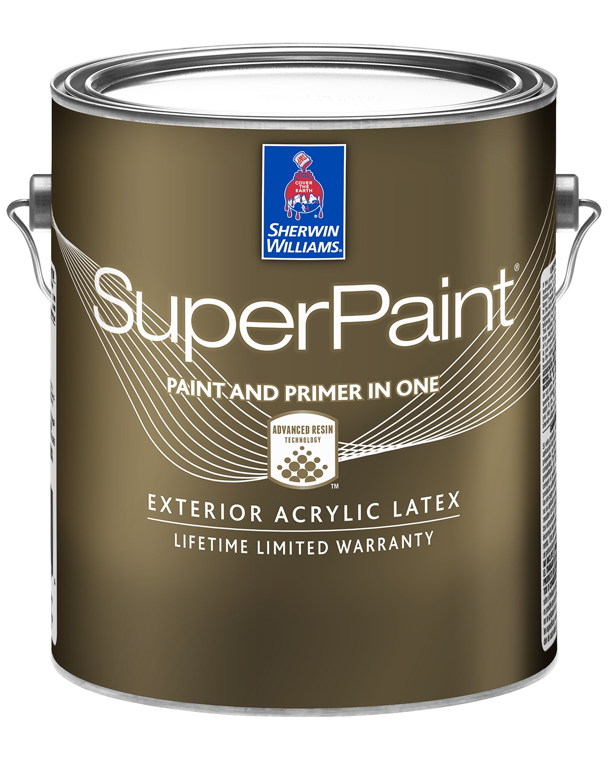 SuperPaint front of can