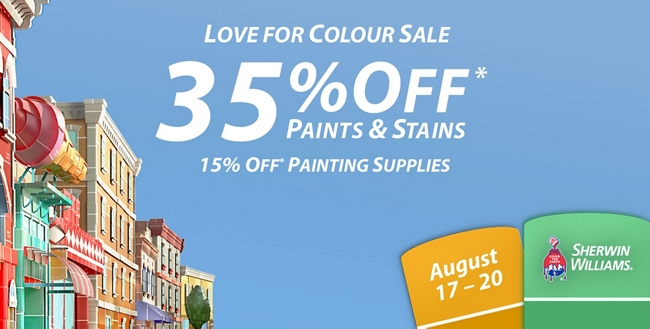 National Love for Colour Sale: August 17 - 20