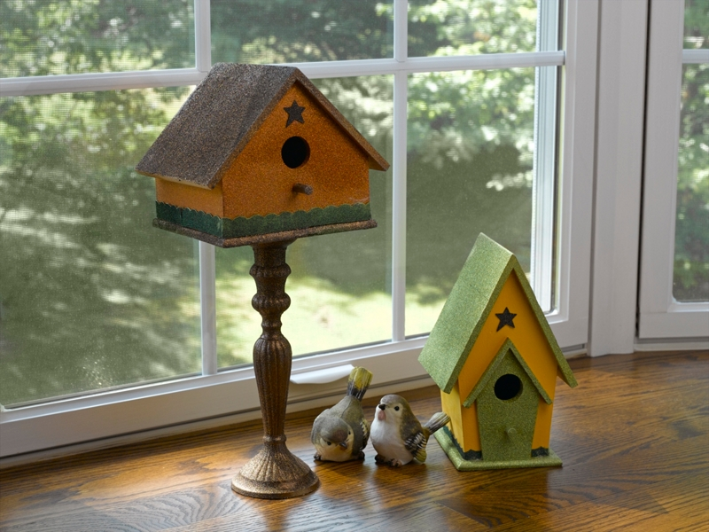 Bird houses project seasonal spray paint projects krylon for Different types of birdhouses