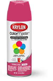 spray paint diy craft professional spray paint products krylon. Black Bedroom Furniture Sets. Home Design Ideas