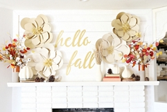 Fall spray paint projects