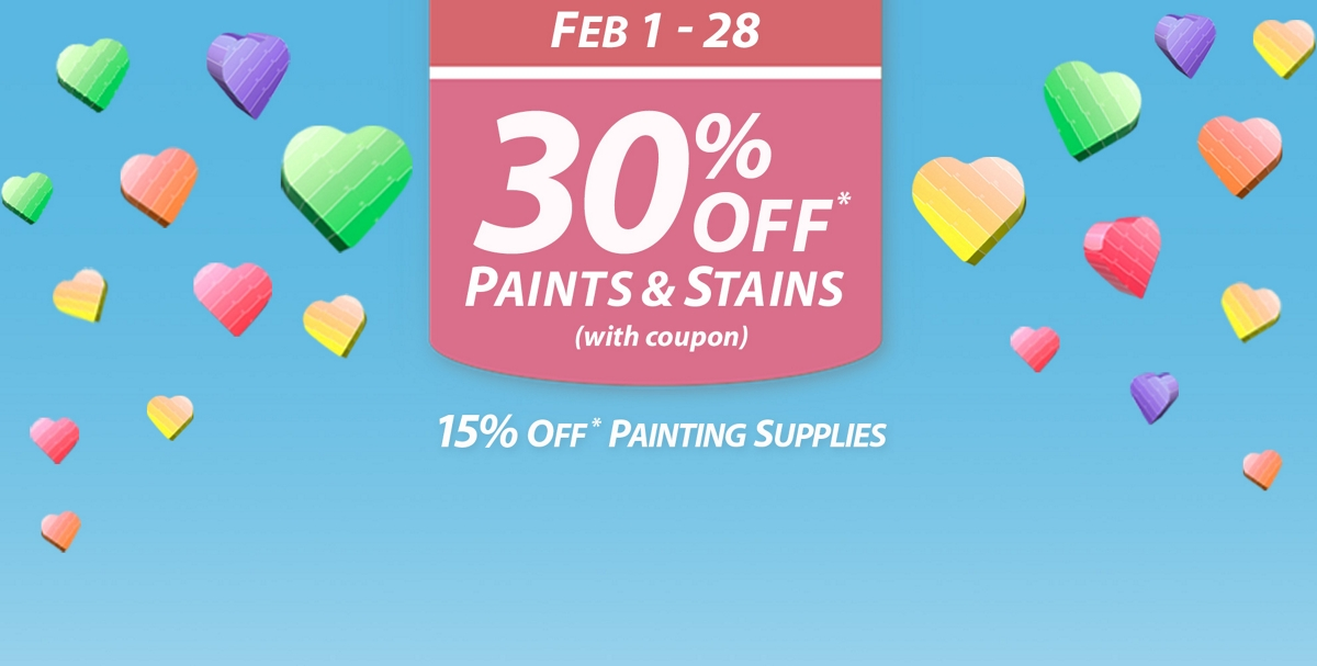 National Coupon Event: February 1 - 28