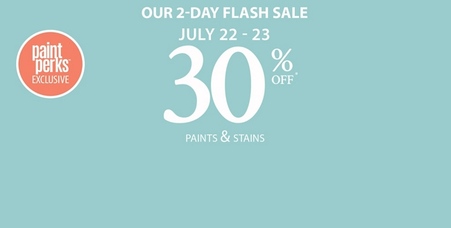 Our 2-Day Flash Sale: July 22 - 23