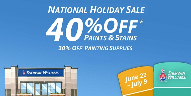 National Holiday Sale: June 22 - July 9
