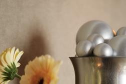 Vintage Looking Glass Vase