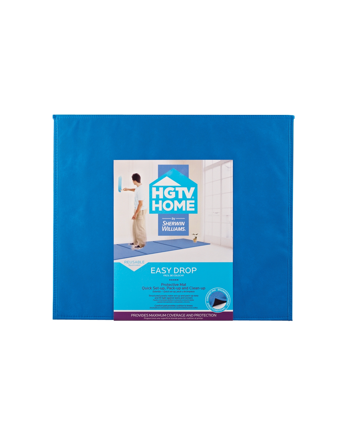 HGTV® HOME by Sherwin-Williams Easy Drop Protection Mat