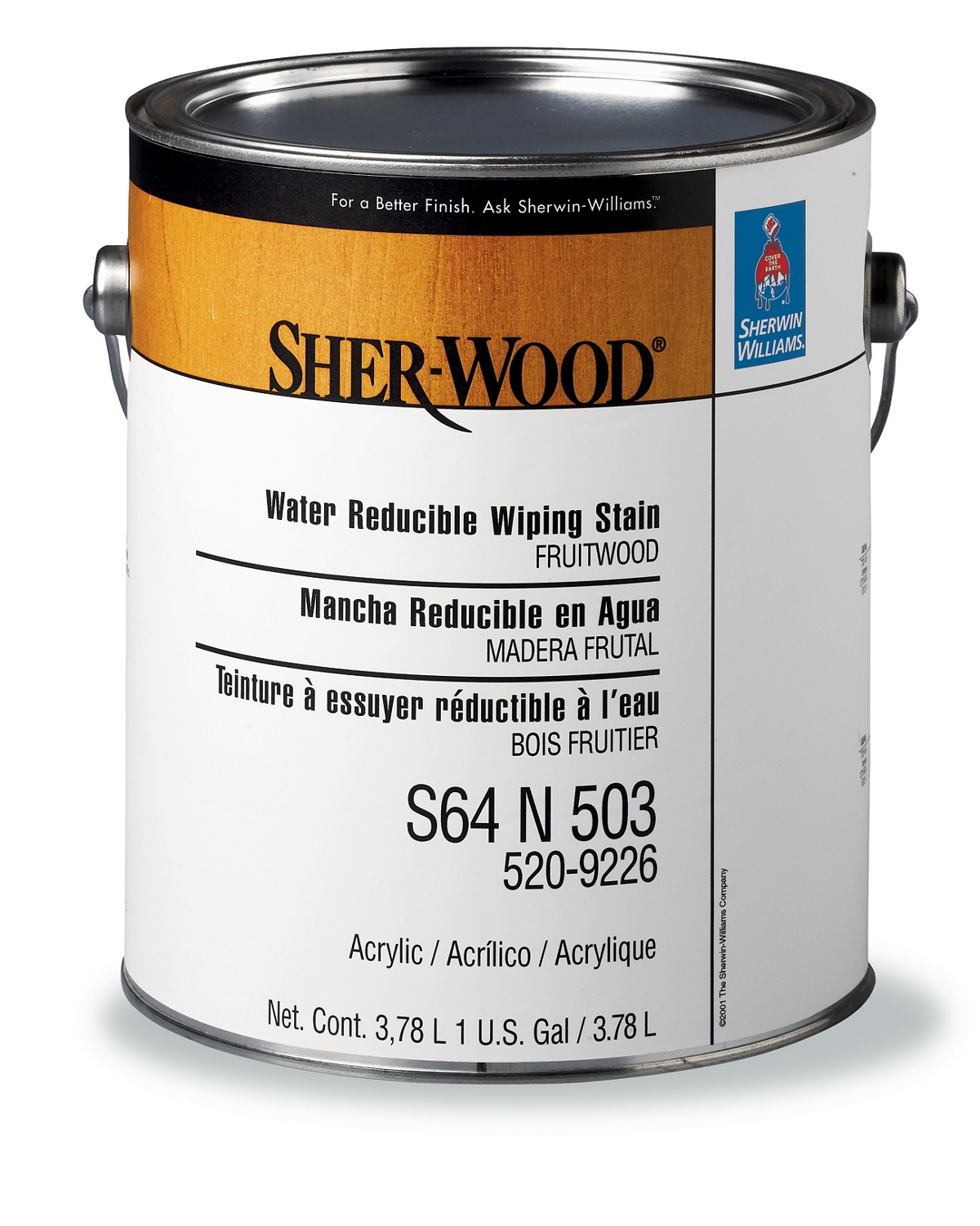 SHER-WOOD® Water Reducible Wiping Stains