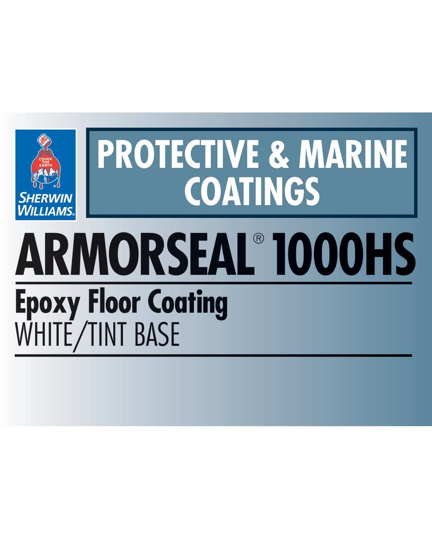ArmorSeal® 1000HS EpoxyFloor Coating