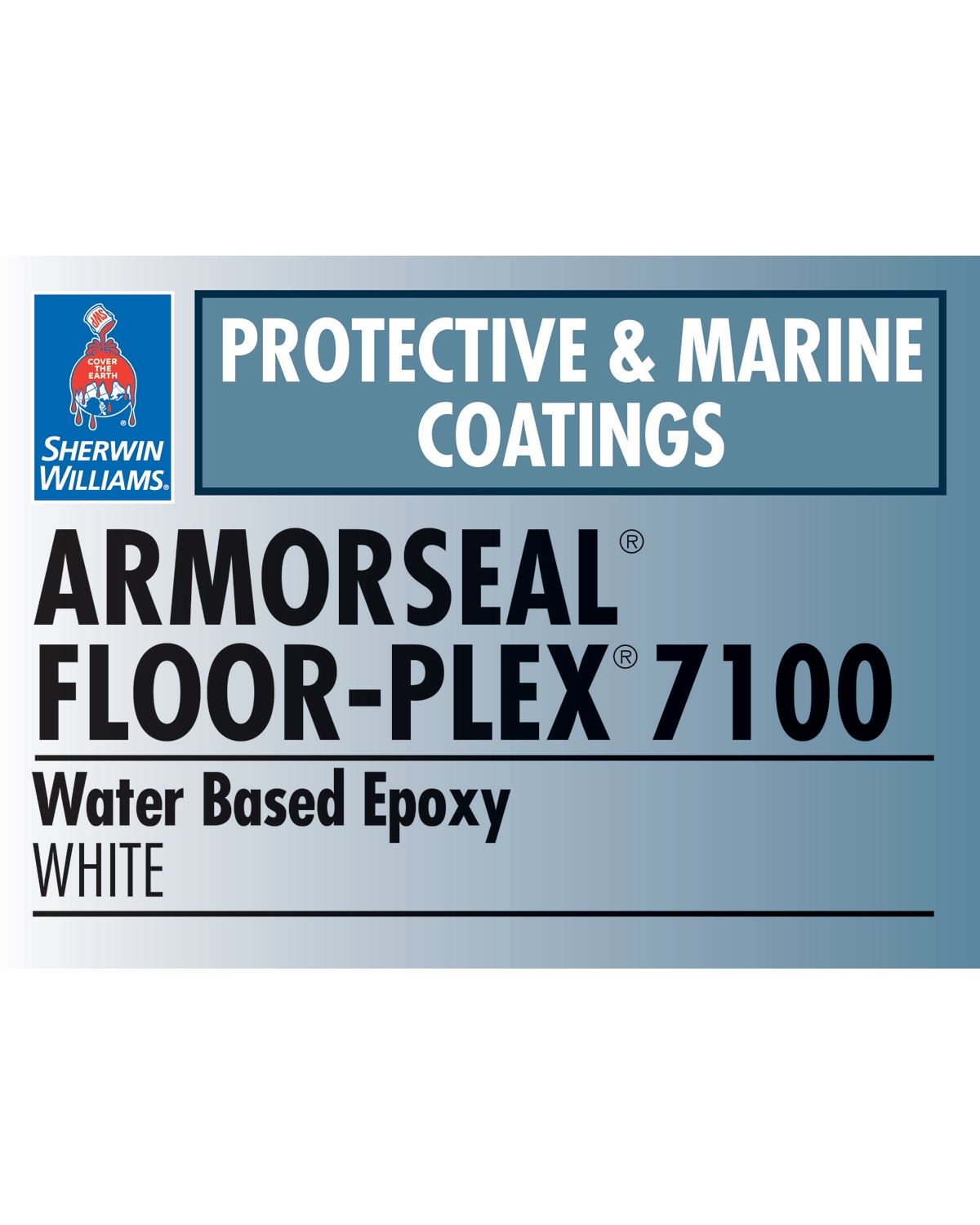 ArmorSeal® Floor-Plex™ 7100 Water Based Epoxy