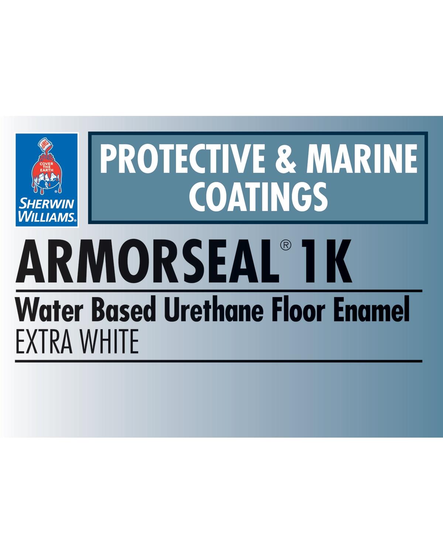 ArmorSeal® 1K Water Based Urethane Floor Enamel